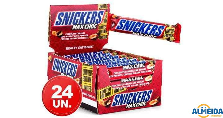 CHOCOLATE SNICKERS 20 X 52G
