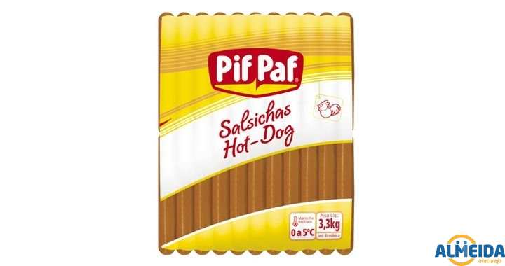 SALSICHA HOT DOG PIF PAF PCT 3.3KG