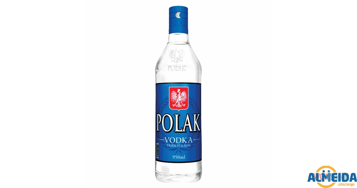 VODKA POLAK TRIDESTILADA 950ML