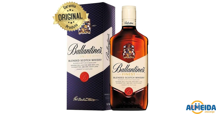 WHISKY BALLANTINES 8 ANOS 750ML